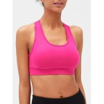 GapFit Medium Impact Racerback Sports Bra