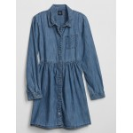 Kids Denim Shirtdress