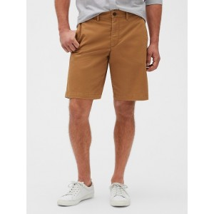 10&#34 Lived-In Shorts with GapFlex