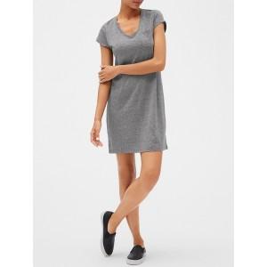Short Sleeve Pocket T Dress