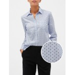 Long Sleeve Shirt in Poplin