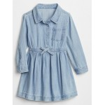 Toddler Chambray Shirtdress