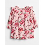 Baby Ruffle Print Dress