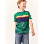Kids Crewneck Pocket T-Shirt in Jersey