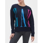Gap Logo Crewneck Sweatshirt in French Terry