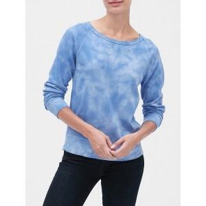 Tie-Dye Raglan Pullover Sweatshirt