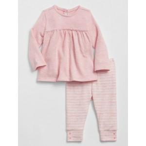 Baby Stripe Sweater Set