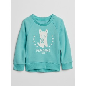 Toddler Graphic Crewneck Sweatshirt