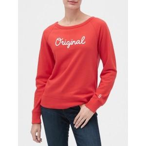 Vintage Soft Embellished Gap Logo Graphic Sweatshirt