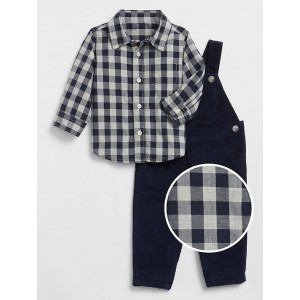 Baby Overalls Outfit Set