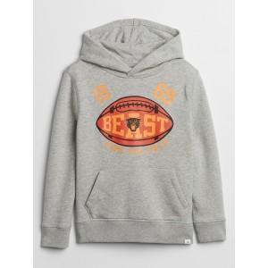 Kids Athletic Logo Hoodie