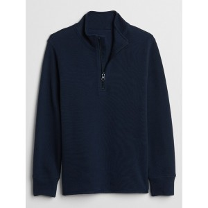 Kids Half-Zip Mockneck Sweater