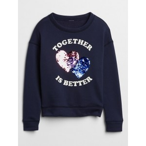 Kids Embellished Graphic Sweatshirt