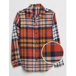 Kids Flannel Long Sleeve Shirt