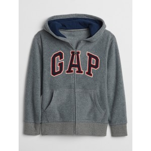 Gap Logo Polar Fleece Full-Zip Hoodie
