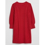 Toddler Cable Knit Dress