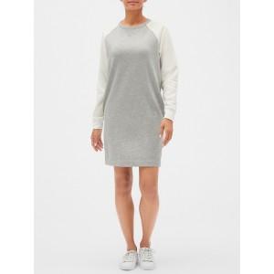 Raglan Sweatshirt Dress in French Terry