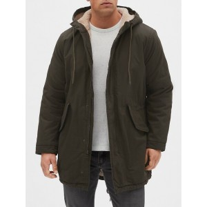 Sherpa-Lined Fishtail Parka