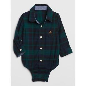 Baby Brannan Bear Plaid Bodysuit