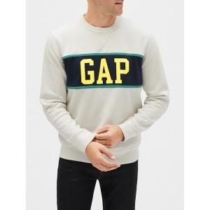 Gap Logo Colorblock Crewneck Sweatshirt