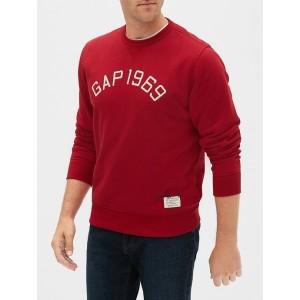 Logo Pullover Sweater in Fleece