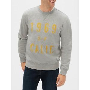 Graphic Crewneck Pullover