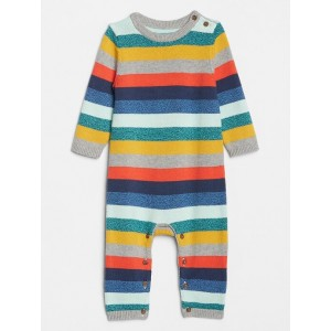 Baby Crazy Stripe Sweater One-Piece