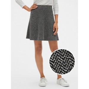 Fit and Flare Tweed Skirt