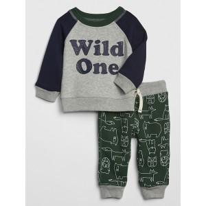Baby Pull-On Pants Set