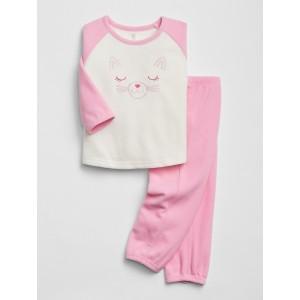 babyGap Print Pajama Set
