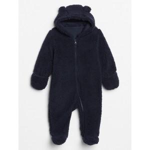 Baby Sherpa Hoodie One-Piece
