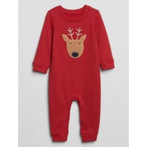 Baby Graphic Fleece One-Piece