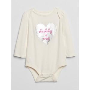 Baby Graphic Long Sleeve Bodysuit