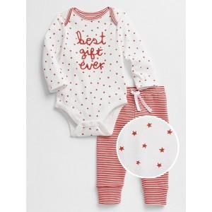 Baby Long Sleeve Bodysuit Set
