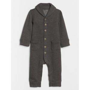 Baby Shawl Collar One-Piece