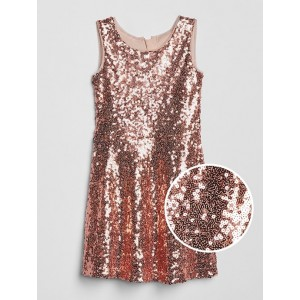 Kids Sleeveless Sequin Dress