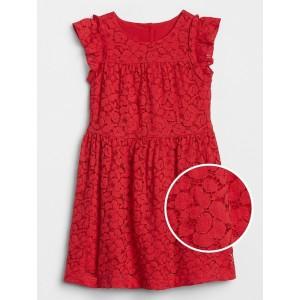 Toddler Ruffle Lace Dress