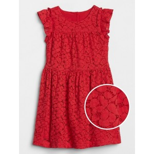 Toddler Ruffle Lace Dress