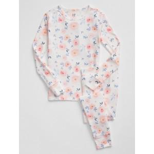 Kids Floral Print PJ Set