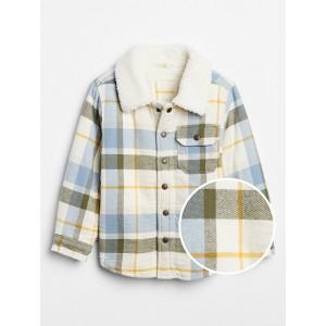 Toddler Flannel Shirt Jacket