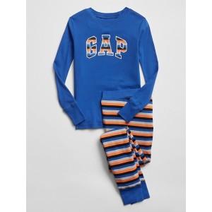 Kids Gap Logo Stripe PJ Set