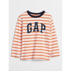 Toddler Gap Logo Stripe Long Sleeve T-Shirt