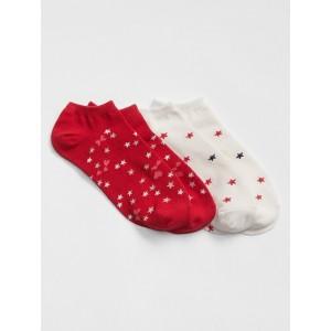 Print Ankle Socks (2-Pack)