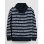 Kids Shawl Collar Sweatshirt