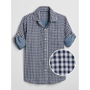 Kids Double-Weave Convertible Shirt