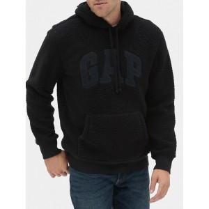 Gap Logo Sherpa Hoodie