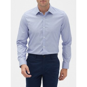 Stretch Poplin Long Sleeve Shirt