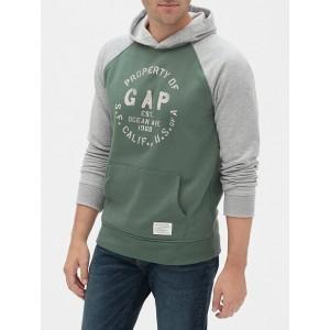 Gap Athletic Logo Raglan Hoodie