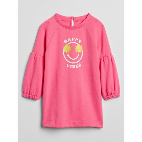 갭 Toddler Graphic Sweatshirt Dress