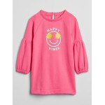Toddler Graphic Sweatshirt Dress